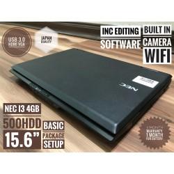 NEC i3 4GB 500HDD PAKEJ B